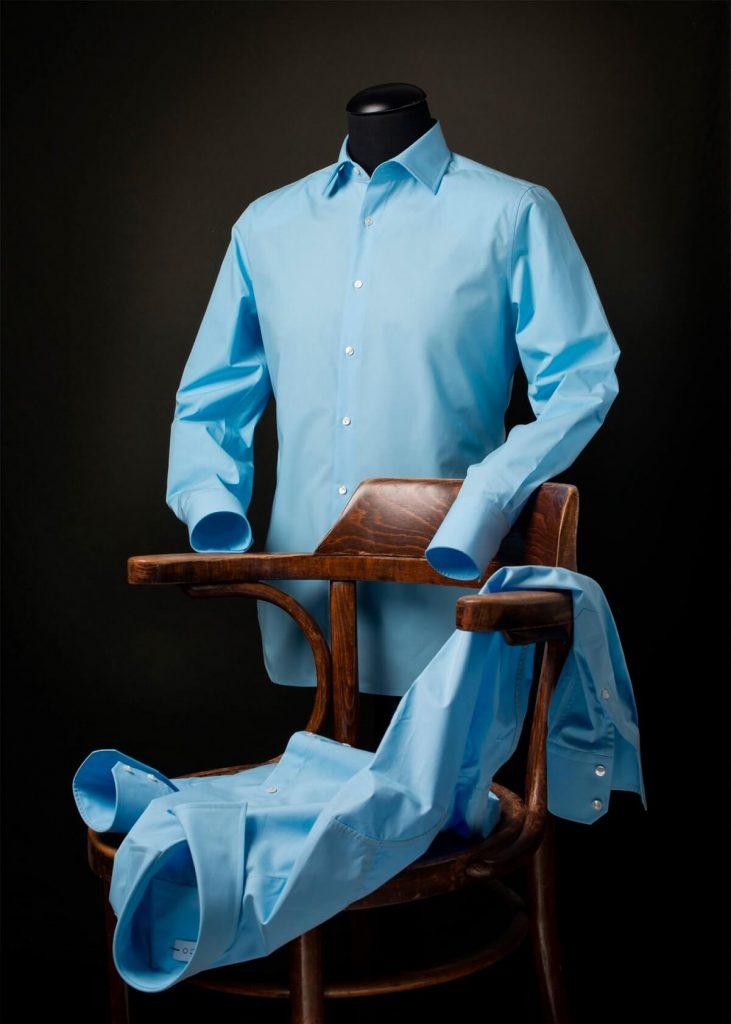 Slimfit lichtblauw overhemd Ceesnco