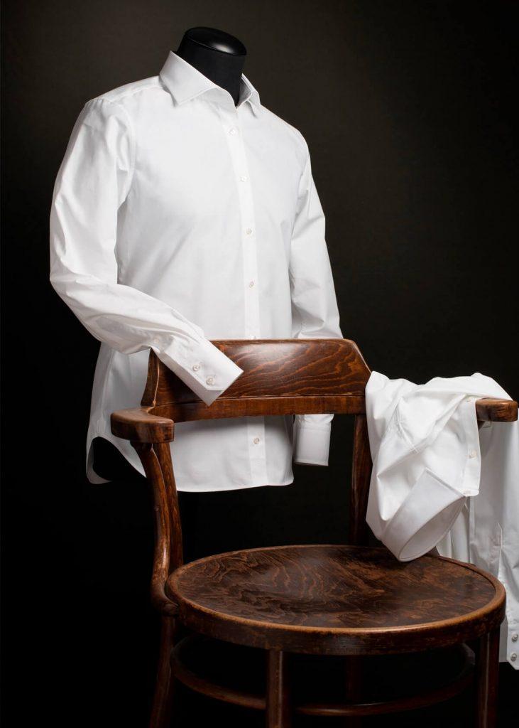 Regular fit wit overhemd Ceesnco